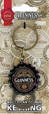 Guinness 2014 Flip Down Bottle Opener Keyring Cap