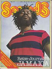 Sounds Mai 1978 Jamaica Blue Öyster Cult Robert Crumb Chiswick-Label Folk-Szene