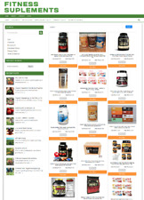 FITNESS SUPPLEMENTS UK WEBSITE BUSINESS WITH 1 YEARS HOSTING + NEW DOMAIN