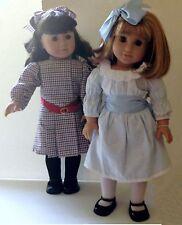 American Girl Pleasant Company Samantha & Nellie Dolls Set NEW