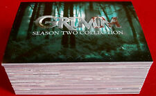 GRIMM - Season Two - COMPLETE BASE SET, 72 CARDS - Breygent Marketing