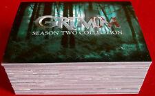 GRIMM - Season Two - COMPLETE BASE SET, 72 CARDS - Breygent Marketing