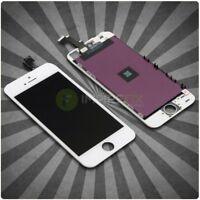 Display für iPhone 5S mit RETINA LCD Glas Scheibe Bildschirm Front WEISS WHITE