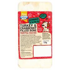 Armitage Noël Chien Turquie Cranberry remplis de moelle osseuse Festive traiter Chew