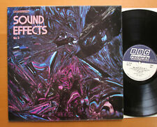 BBC Sound Effects No. 3 NEAR MINT Vinyl 1970 BBC Records RED 102M