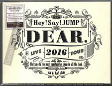 Hey! Say! JUMP: Dear Live 2016 Tour (2017) 2-DVD & 60p BOOKLET LIMITED EDITION