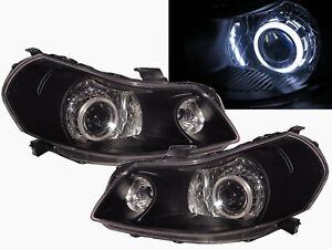 Sedici MK1 2007-2013 5D CCFL Projector Headlight Black EU V1 for Fiat LHD
