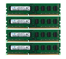 16G Samsung 4X 4GB 2RX8 PC3-10600 DDR3 1333Mhz Desktop DIMM Memory PC10600 CL9