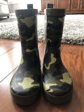 Little Boys Rain Boots 7/8