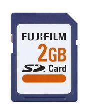 Genuine Fuji FujiFilm 2GB SD Memory Card for Digital Cameras/Camcorder etc