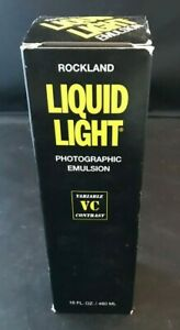 Rockland Liquid Light Photographic Emulsion EXPIRED