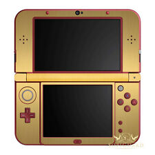 SopiGuard Brushed Gold Vinyl Skin Full Body For New 3DS XL LL