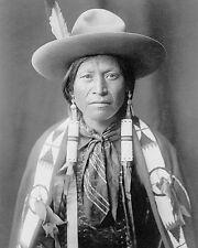 Jicarilla Indian Cowboy Edward S. Curtis 8x10 Silver Halide Photo Print
