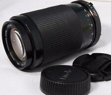 Vivitar 70-210mm f4.5-5.6 Macro Zoom For Minolta MC Mount Lens Used