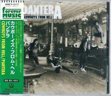 Pantera Cowboys From hell Japan CD w/obi AMCY-3117
