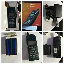 CELLULARE SIEMENS C25 GSM 900/1800 made in germany UNLOCKED SIM FREE DEBLOQUE