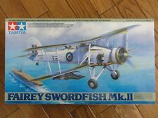 Fairey Swordfish MkII 1:48 Aircraft Plastic Model Kit 61099 by Tamiya