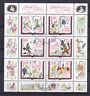 Briefmarken DDR Klb 2987-2992 phil. gestempelt, Brüder Grimm