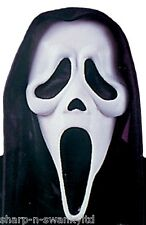 Onorevoli Uomo Ghostface Scream Halloween FACE MASK Costume Accessorio