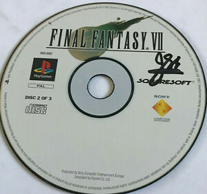 Final Fantasy VII (7) DISC 2 OF 3 ONLY / BLACK LABEL / Playstation 1 PS1 PS2