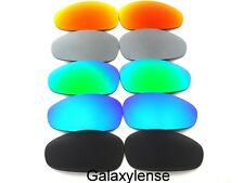 Galaxy Replacement Lenses For Oakley Juliet Black&Blue&Green&Titanium&Red 5Pair
