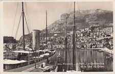 Monaco , Hafen  , Ansichtskarte, gelaufen