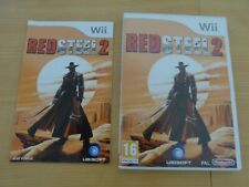 Red Steel 2 Nintendo Wii Wii U complet comme neuf (sans rayure) boitier VF