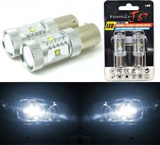 LED Light 30W 1156 White 5000K Two Bulbs Rear Turn Signal Replacement Stock JDM