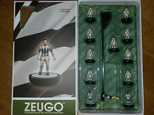 Squadra Speciale Zeugo Bianconera Juventus subbuteo table football calcio tavolo