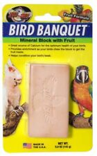 ZOO MED BIRD BANQUET LARGE MINERAL BLOCK WITH FRUIT - 142G