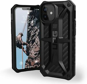 UAG Monarch Carbon Fiber Black  for Apple iPhone 12,12 pro, iPhone 12 Pro Max