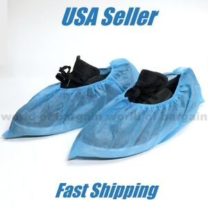 10 pairs Disposable Shoe Covers Non Woven Fabric Painting Open House Guests H090