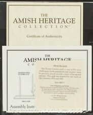 30015 Rebecca and Sam Original CoA & Papers | Amish Heritage Collection