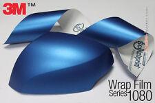 Genuine 3M 1080-M227 Matte Metallic Blue Car Wrap Vinyl 1.52mX1.8mx6pcs