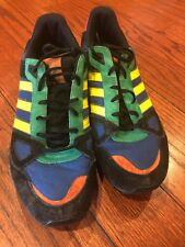 reputable site f2bdb 47168 Vintage Adidas ZX 750 Oddity Pack Mens Black Red Yellow Shoes Sneakers Size  13