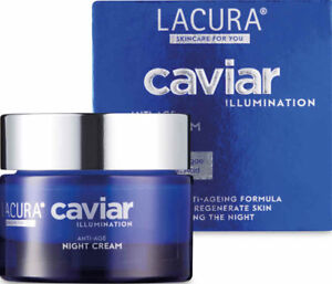 Lacura Caviar Luxury Night Cream Anti Ageing - 50ml