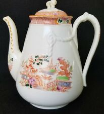 ANTIQUE GREAT BRITAIN M & Co. CHOCOLATE COFFEE POT TEAPOT HAND MADE 1800'S