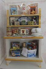 Maison de poupées miniatures: échelle 1:12 Thé Cabinet par Lorraine Scuderi