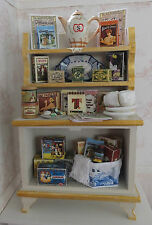Casa De Muñecas Miniaturas: gabinete de té de escala 1:12 por Lorraine Scuderi
