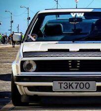 Hood Bra DIAMOND Fits VW Volkswagen Golf & Jetta MK2 84 85 86 87 88 89 90 91 92