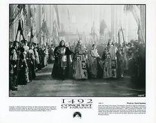 GERARD DEPARDIEU  SIGOURNEY WEAVER  1492 CONQUEST OF PARADISE 1992 VINTAGE PHOTO