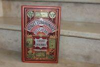 Jules Verne - césar cascabel, cartonnage hetzel aux 2 éléphants