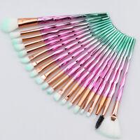 20pcs Kabuki Makeup Brushes Set Foundation Powder Blush Eyeshadow Lip Brush Tool