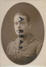 WW1xficer Capitán J B Johnstone Mencionado en es ASC Ejército Funcionamiento