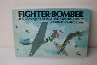 Cadaco Board Game Fighter Bomber Game Of Mustangs And Messerschmitts Military