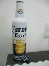 Corona extra beer: 473 ml empty aluminum bottle,Mexico,export to Israel,2019.