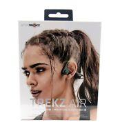 AfterShokz Trekz Air Open Ear Wireless Bone Conduction Headphones - Forest Green