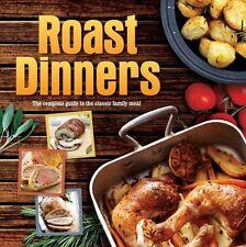 ROAST DINNERS ___ LIGHT SHELF WEAR ___ HARDBACK ___ FREEPOST UK
