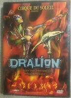 Cirque du Soleil - Dralion (DVD, 2001) brand new/ factory sealed