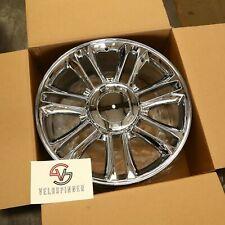 """New 22"""" 22X9 Chrome Replica Wheel Rim for 07-14 Cadillac Escalade ESV EXT 5358"""
